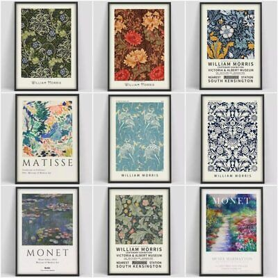 William Morris The Victoria and Albert Museum Exhibition Canvas Painting Posters