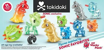 SONIC WACKY PACK TOKIDOKI TOYS PICK YOUR FAVORITES  3-75 FLAT RATE SHIPPING