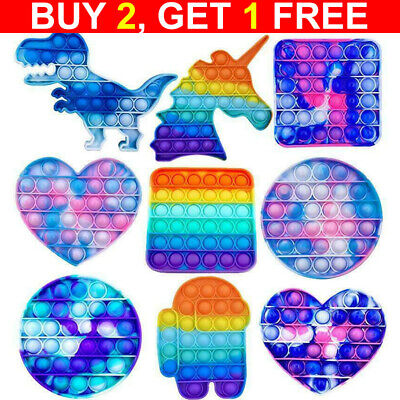 Hot Pop It Push Bubble Fidget Toys Adult Stress Relief Toy Antistress PopIt Soft