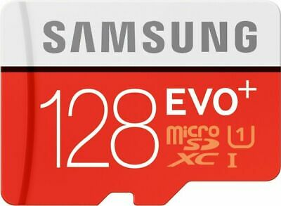 Samsung EVO MB-MC128DAAM Plus 128gb Micro SD Card With Adapter