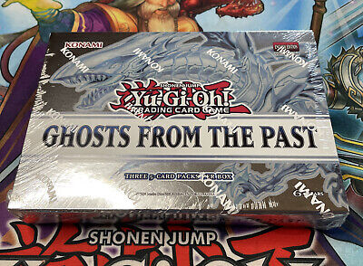 Yugioh Ghosts From the Past Mini Box 3 Packs Sealed 1st Edition Ships Fast