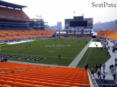 6 Steelers vs Seahawks Tickets Lower Level Aisle  Visitors Tunnel