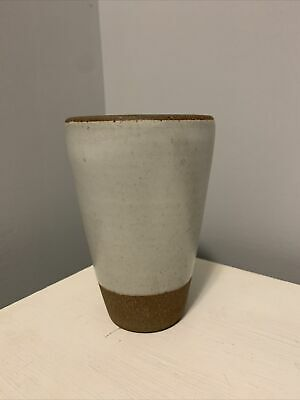 East Fork Pottery Tumbler in old eggshell wheel thrown first