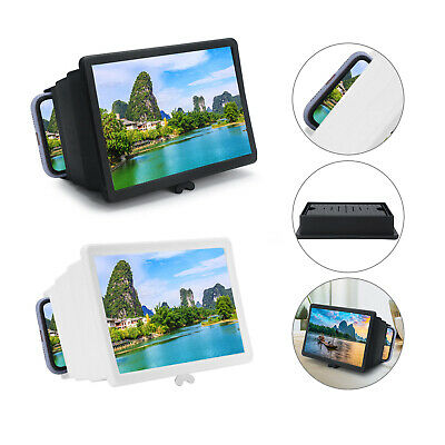 Folding 3D Enlarge Screen Magnifier Amplifier Mobile Phone HD Stand Universal