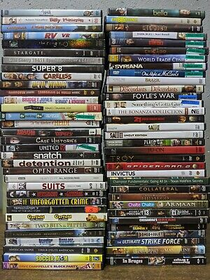 65 DVD Lot -  Bulk Wholesale DVD Movies - Used - Assorted Genres