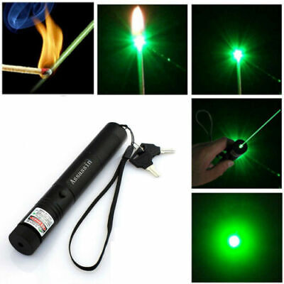Powerful 900Miles Green Laser Pointer Pen Astronomy Visible Beam Light For pets