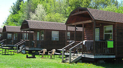 Milford NY 2 nt cabin stay Cooperstown Beaver Valley Cabi 250 value