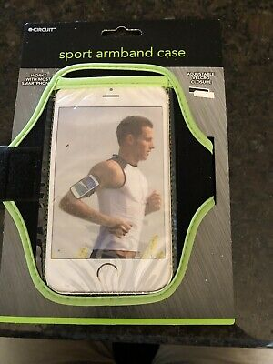 Gym sport running armband case cover