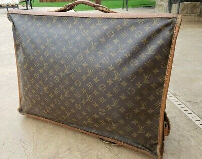 Authentic Louis Vuitton Vintage LV Monogram French Co- Garment Bag