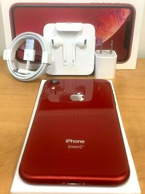 Apple iPhone XR 64GB A1984 4G LTE Fully Unlocked 📱 AT-T T-Mobile Verizon RED