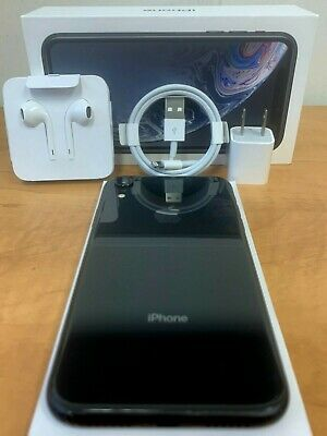 Apple iPhone XR 64GB A1984 4G LTE Fully Unlocked 📱 AT-T T-Mobile Verizon Black