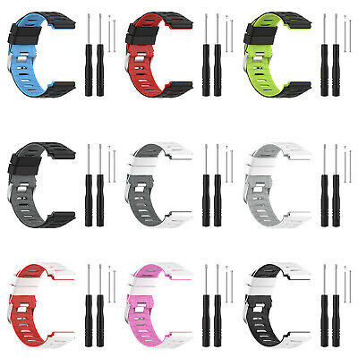 Soft Silicone Watch Strap Band with Tool for Garmin Forerunner 920XT Smart Watch