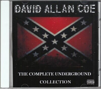 DAVID ALLAN COE CD - 22 X RATED HITS - Underground - Nothing Sacred allen