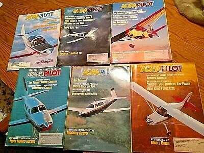 LOT of 12 AOPA Pilot Magazine Issues 1997 1998 Aviation airplane hard to find