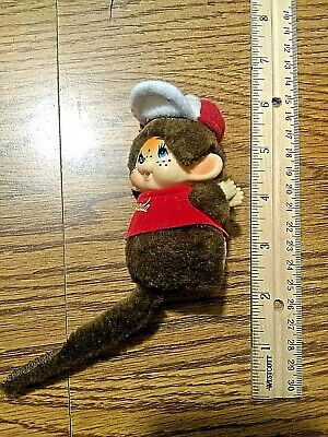 OLD vintage RETRO i love canada Monkey with spring loaded arms cute ADORABLE