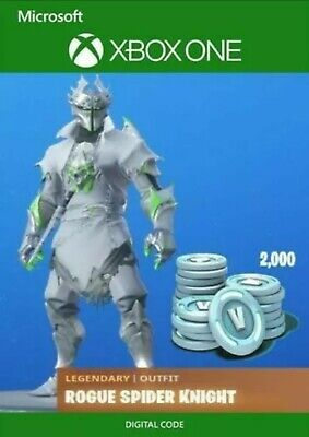 Fortnite Legendary Rogue Spider Knight  Game Card  Xbox One