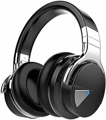 Brand New Cowin E7 Pro Wireless Over-Ear Headphones With Microphone - Black