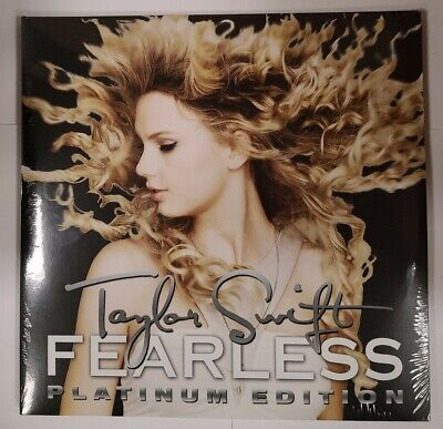 Taylor Swift – Fearless Platinum Edition - 2 LP Vinyl Records - NEW Sealed