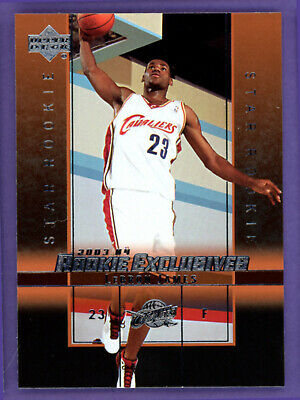 2003 Upper Deck LeBron James Star Rookie Exclusives 1 RC MINT or BETTER