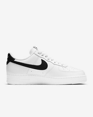 Nike Air Force 1 Low 07 Black White Size 11 FREE READ