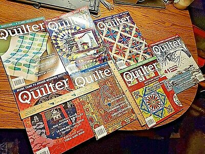 Lot of 7 American Quilter magazines 2011 2012 2013 quilting quiltmakers LK