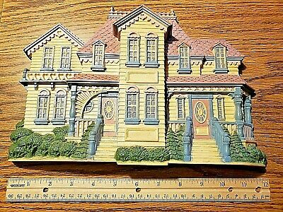 Old Vintage Homco BURWOOD VICTORIAN Colonial HOUSE 2921 RARE Hard to Find LK