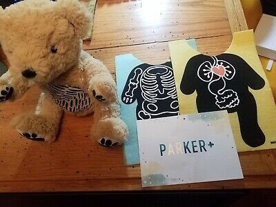 Seedling Parker Medical Learning Kit Your Augmented Reality Bear for kids RARE