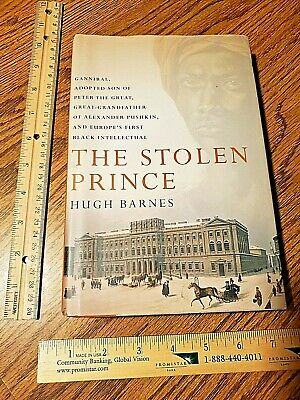 THE STOLEN PRINCE by Hugh Barnes 2006 Hardcover RARE SEE PICS CLEAN w DJ