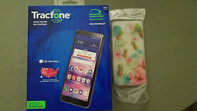 LG Journey LTE Tracfone Android 9 Smartphone Open Boxed 16GB ROM 2GB RAM Extra