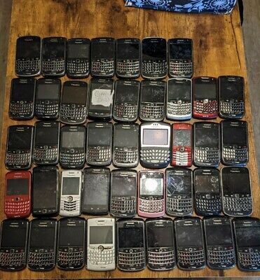 Blackberry Phones large lot fix or gold recovery