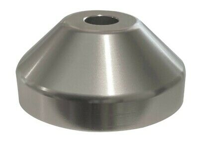 Turntable 45 rpm Record Adapter Dome Cone Aluminum for 7 Inch Vinyl Records