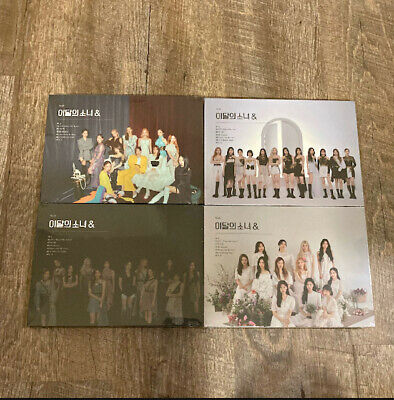 LOONA - AND A B C D Version Sealed Albums US Seller 725 Restock