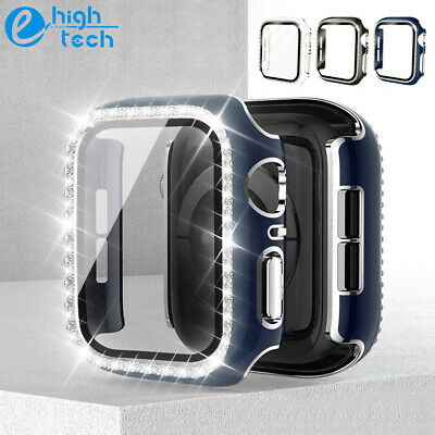 For Apple Watch Series SE654 Bling Diamond Case iwatch Cover Screen Protector