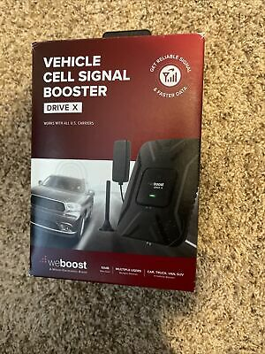 weBoost Drive X Cell Phone Signal Booster Kit For Car Truck SUV 475021