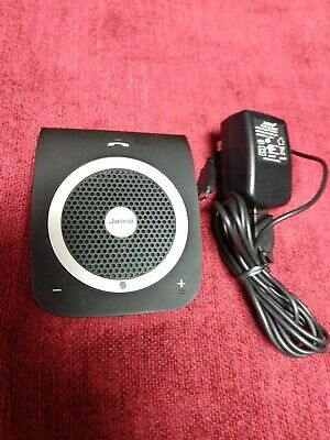 Jabra Tour Blue-Tooth in Car Speakerphone HFS101 w charger Working Tested