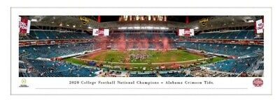 2021 College Football Playoff National Championship Panoramic Picture - Alabama
