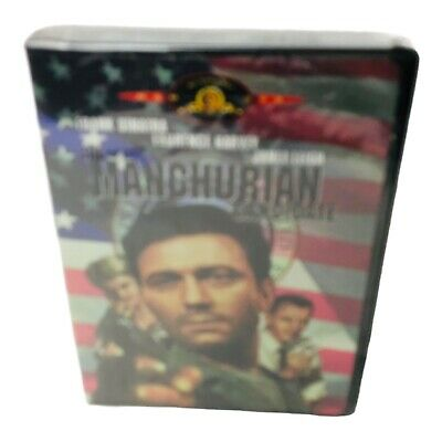 The Manchurian Candidate DVD Frank Sinatra Laurence Harvey New Sealed