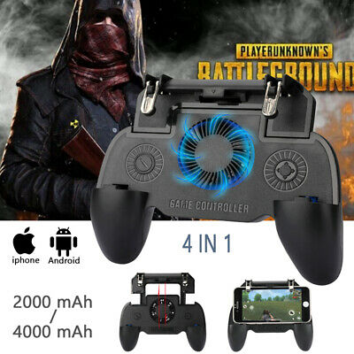 Mobile Phone Game Controller Joystick Cooling Fans Gamepad for PUBG Android IOS