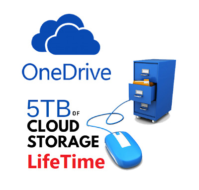 OneDrive 5TB Cloud Storage LIFETIME - Instant Delivery