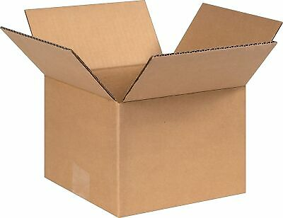 SI PRODUCTS 8 x 8 x 6 Shipping Boxes 32 ECT Brown 80806