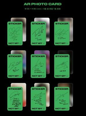 NCT 127 3RD ALBUM Sticker Jewel Case Ver- AR PHOTO CARD PHOTOCARD ONLY