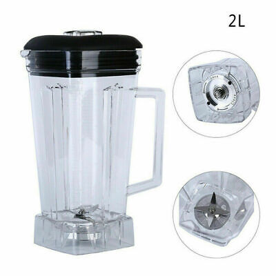 2L Commercial Blender Spare Parts Container Jar Jug Pitcher Cup-Blade Assembly