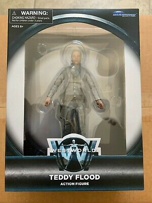 DIAMOND SELECT WESTWORLD TEDDY FLOOD WITH HAT AND STAND