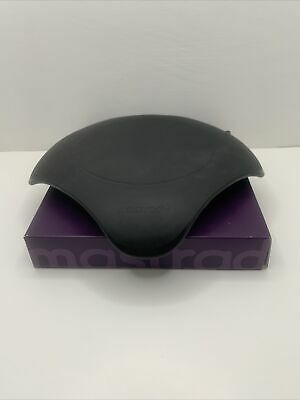 Magma Microwavable Hot Plate By Mastrad Black Silicone Free Shipping