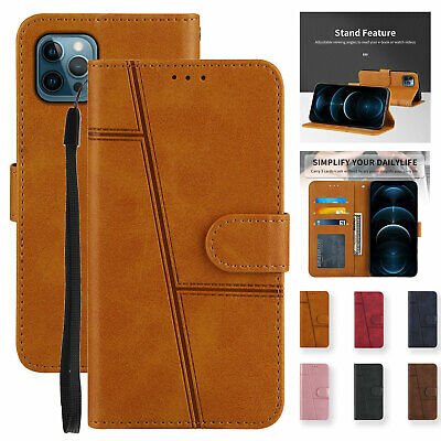 Magnetic Leather Wallet Flip Stand Case For iPhone 13 12 Pro Max 11 XS X XR 67 8