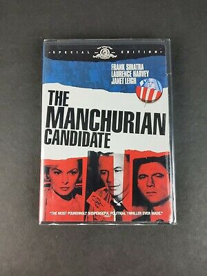The Manchurian Candidate DVD Special Edition NEW Frank Sinatra Janet Leigh