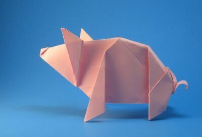 Origami Paper Handmade Pig Gifts For Family Or Friends