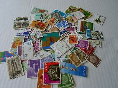 Collection lot 125 different Israel stamps