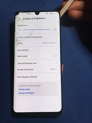 Huawei P30 Pro LCD BLACK SPOT Touch Screen Original Cracked Glass Working Touch