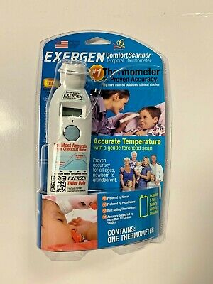 EXERGEN Temporal Artery Thermometer for Home Use Model TAT-2000C NEW
